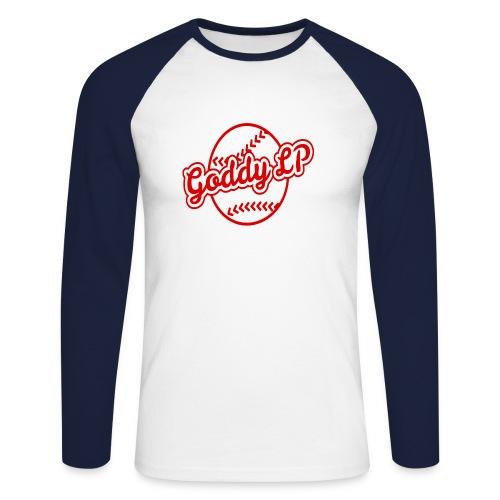 GoddyLP Logo Transparent - Männer Baseballshirt langarm