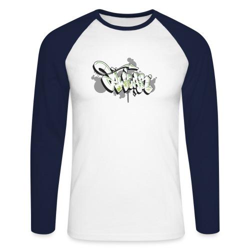 Mesk 2Wear graffiti style 7up ver02 - Langærmet herre-baseballshirt