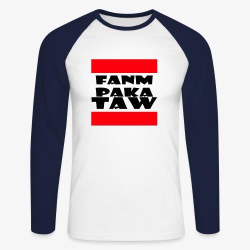 fanm paka taw noir - T-shirt baseball manches longues Homme