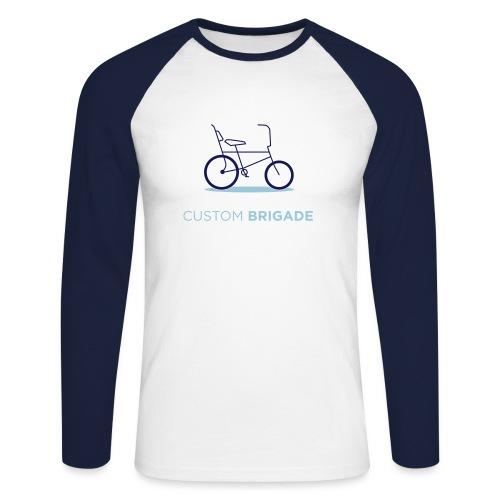 flatvelo - T-shirt baseball manches longues Homme
