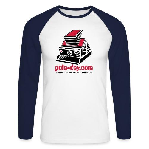 POLA-DAY SX-70 Alpha - Men's Long Sleeve Baseball T-Shirt