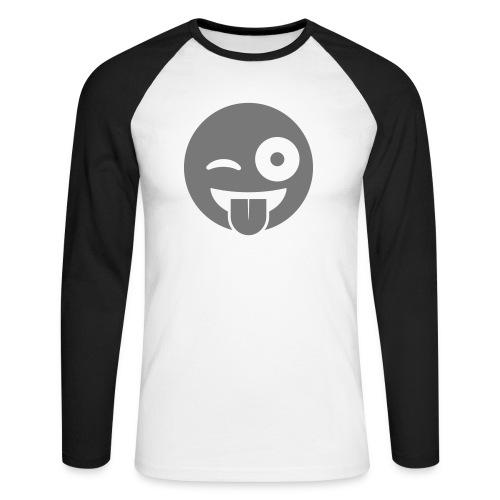 Emoji - Männer Baseballshirt langarm