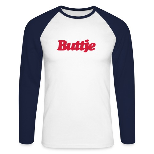 Langarm-Shirt Buttje - Männer Baseballshirt langarm