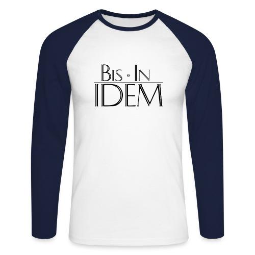 bis in idem_black - T-shirt baseball manches longues Homme