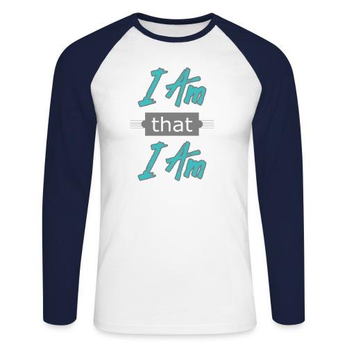 I-am-that-i-am - Langærmet herre-baseballshirt