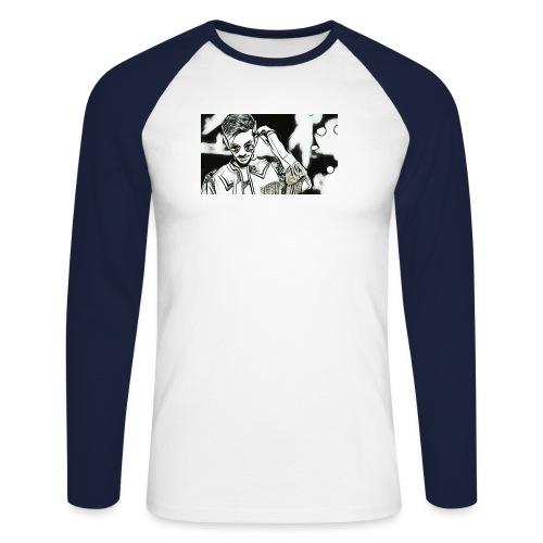 Anirudh - Men's Long Sleeve Baseball T-Shirt