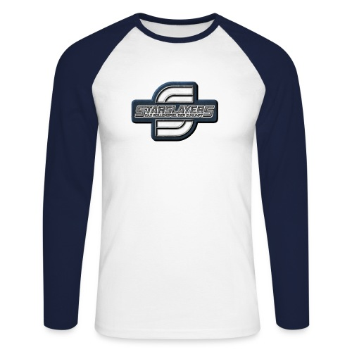 Starslayers Logo - Männer Baseballshirt langarm
