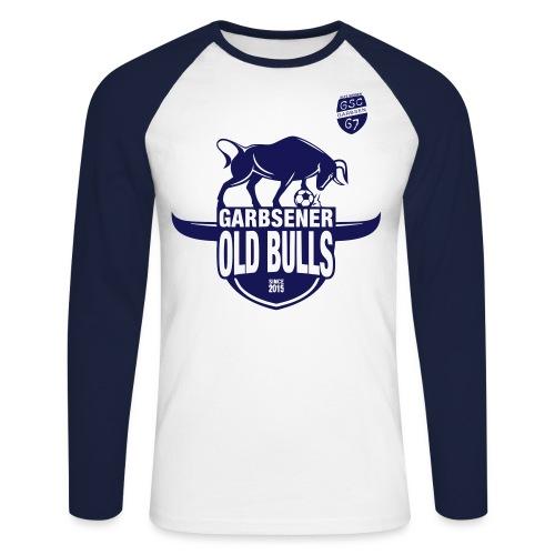 Test OLD BULLS - Männer Baseballshirt langarm