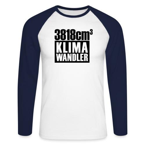 Klimawandler Mercedes 380 SE L - Men's Long Sleeve Baseball T-Shirt
