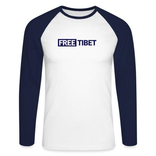 freetibet2 - Männer Baseballshirt langarm