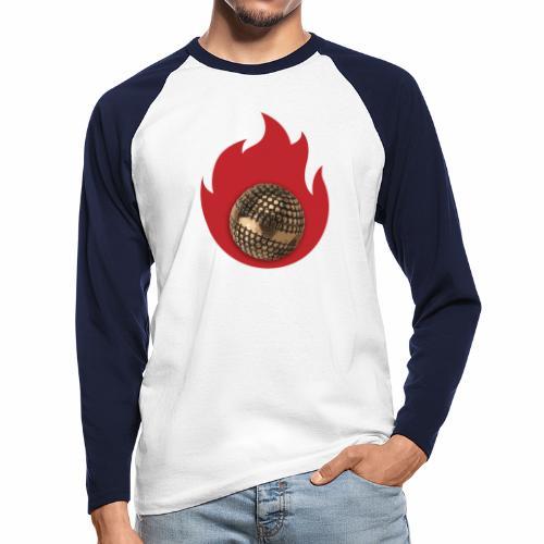 petanque fire - T-shirt baseball manches longues Homme