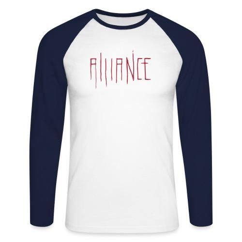 cathedral - Men's Long Sleeve Baseball T-Shirt