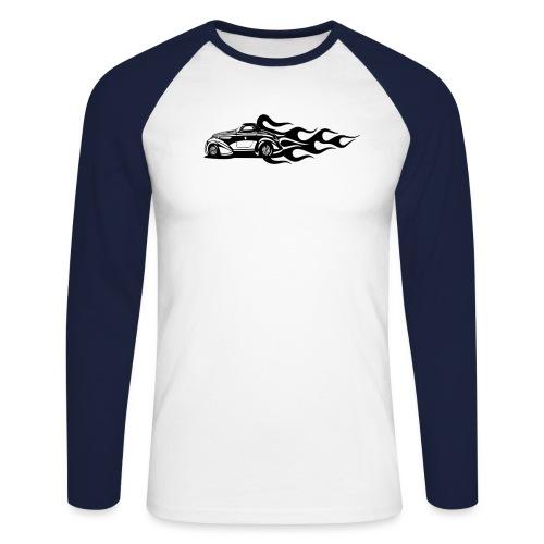 auto - Männer Baseballshirt langarm