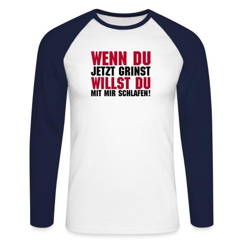 wenndu1a - Männer Baseballshirt langarm