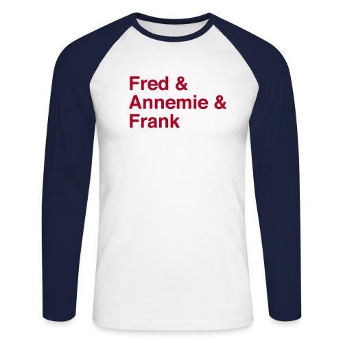 fred annemie frank - Männer Baseballshirt langarm