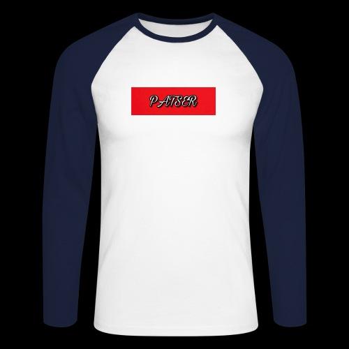 PATSER deluxe - Mannen baseballshirt lange mouw