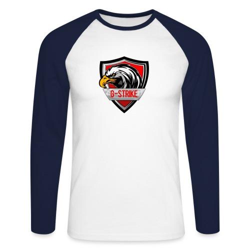 Logo sem back 1000x1000 png - Men's Long Sleeve Baseball T-Shirt