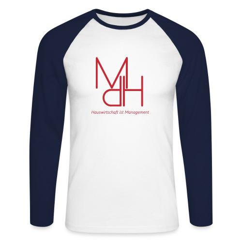 MdH - Hauswirtschaft ist Management - Männer Baseballshirt langarm
