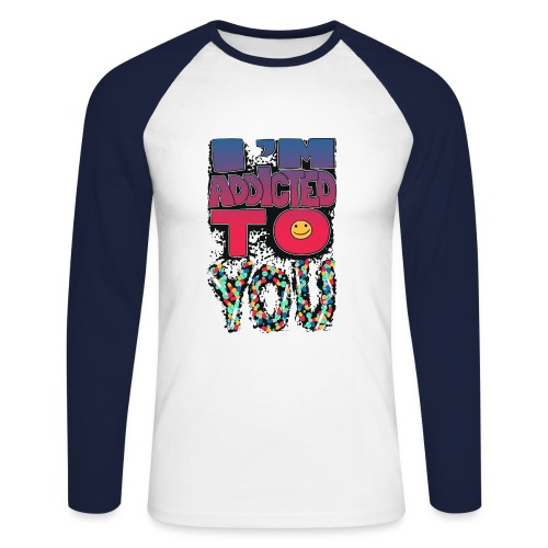 Feeling - Men's Long Sleeve Baseball T-Shirt