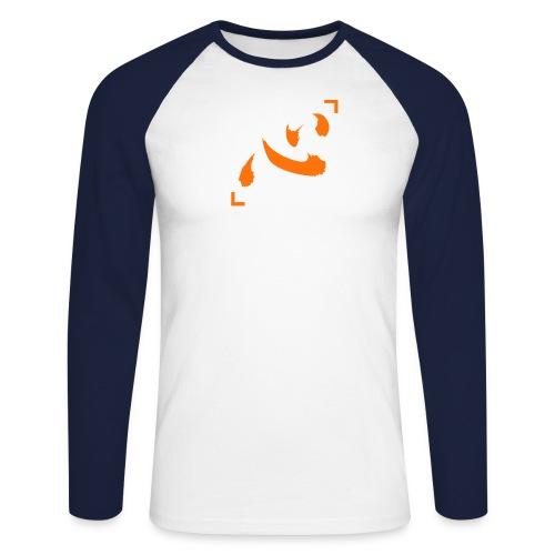 Netero Heart - Mannen baseballshirt lange mouw