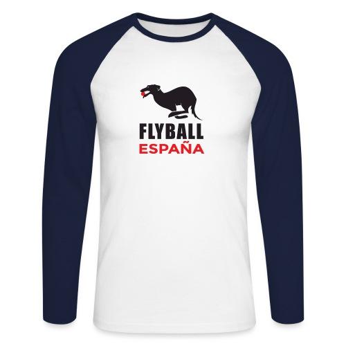 Flyball españa - Raglán manga larga hombre