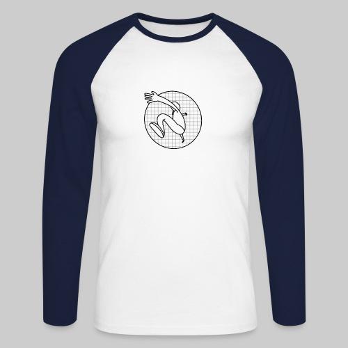 Läufer - Männer Baseballshirt langarm