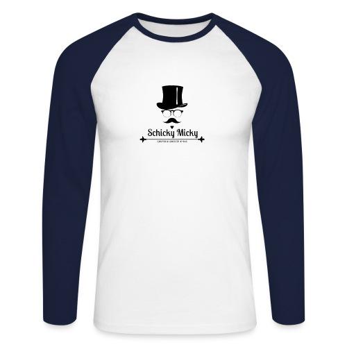 Gospodin Schicky Micky Modern - Männer Baseballshirt langarm
