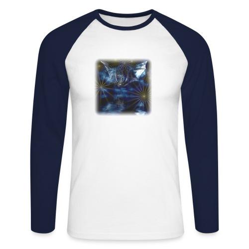 Blauer Drache - Men Baseball-T Longsl. WSS/DBL - Männer Baseballshirt langarm