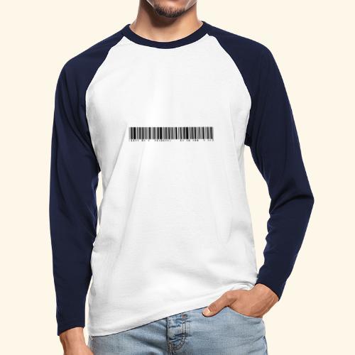 110% überdurchschnittlich gut aussehend - Männer Baseballshirt langarm