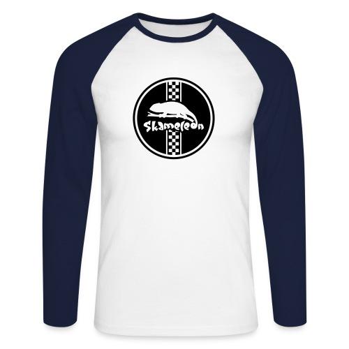 skameleon Logo - Männer Baseballshirt langarm