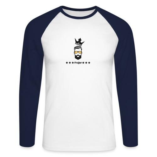 King Frajer - Männer Baseballshirt langarm