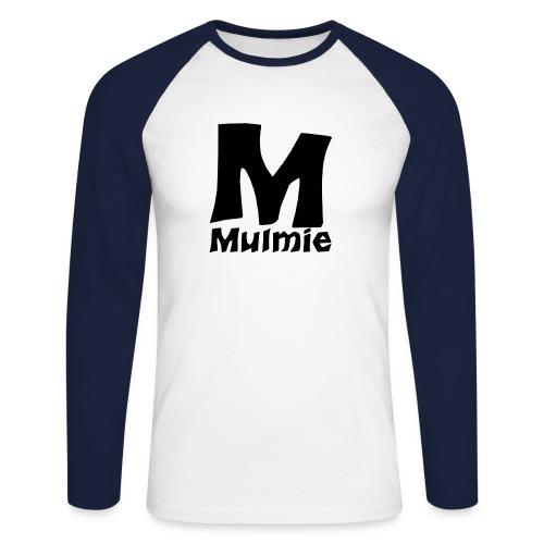 blackMmulmie png - Mannen baseballshirt lange mouw