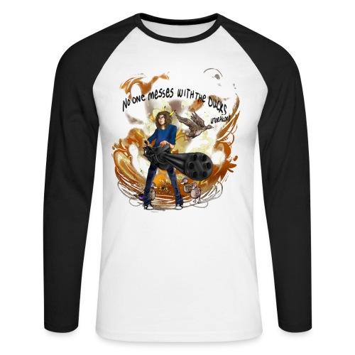utshirt png - Men's Long Sleeve Baseball T-Shirt