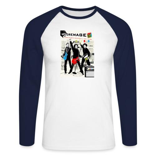 storemage box cover - Männer Baseballshirt langarm