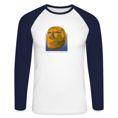 Priesterkönig - Männer Baseballshirt langarm