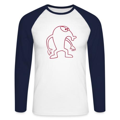 Hempel_unterm_Sofa - Männer Baseballshirt langarm