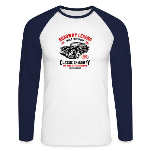 Roadway Legend Build for Speed - Mannen baseballshirt lange mouw