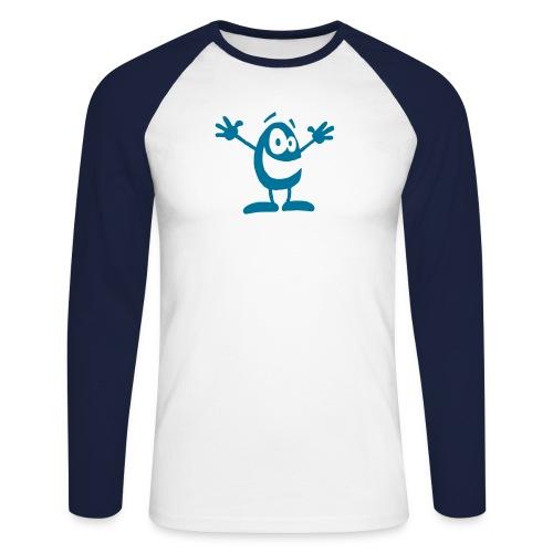 ei - Männer Baseballshirt langarm