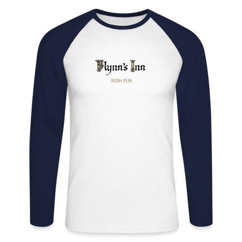 flynns logo colour - Männer Baseballshirt langarm