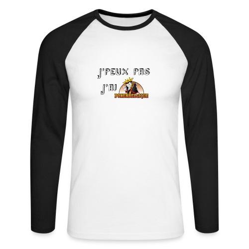 J'peux pas j'ai PB - T-shirt baseball manches longues Homme