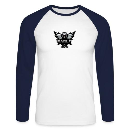 Eagle merch - Langærmet herre-baseballshirt