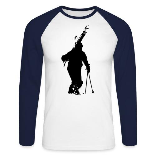 bart - Männer Baseballshirt langarm