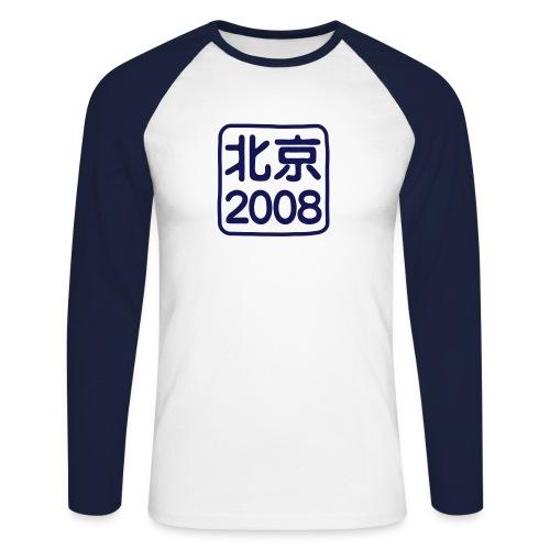 China Beijing 2008 - T-shirt baseball manches longues Homme