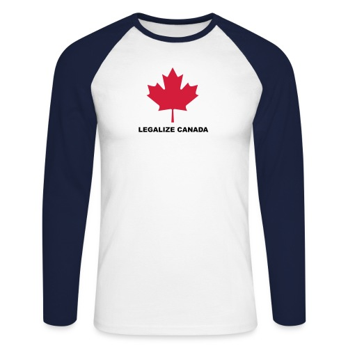 legalize canada - T-shirt baseball manches longues Homme