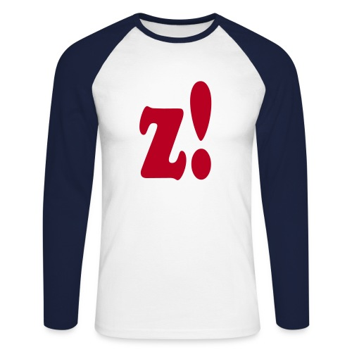 z! - logo - Männer Baseballshirt langarm