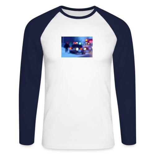 trafficlights - Men's Long Sleeve Baseball T-Shirt