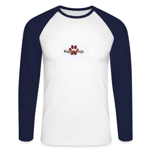 Happy dogs - Männer Baseballshirt langarm