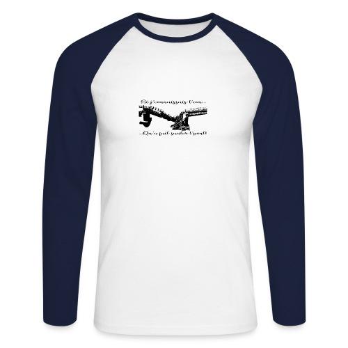 si je connaissait l'.... - T-shirt baseball manches longues Homme