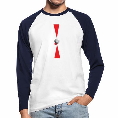 Petanque Minimalisme - T-shirt baseball manches longues Homme