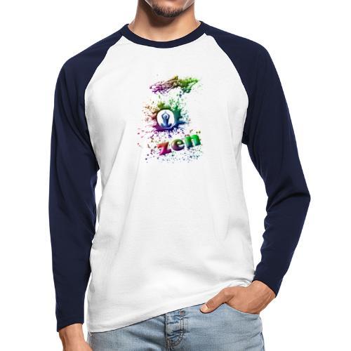 motif zen - T-shirt baseball manches longues Homme
